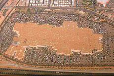 Arizona Mills Mall from the air. Photo: Brandon Wiggins