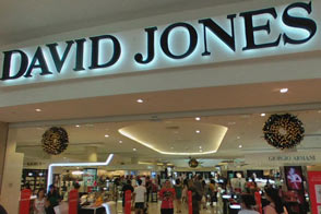 David Jones department store at Chadstone
